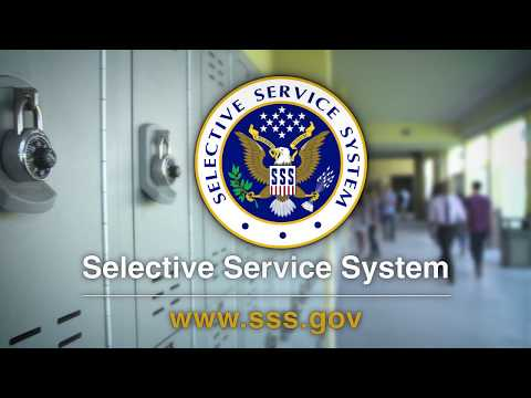 Register with the Selective Service Today!
