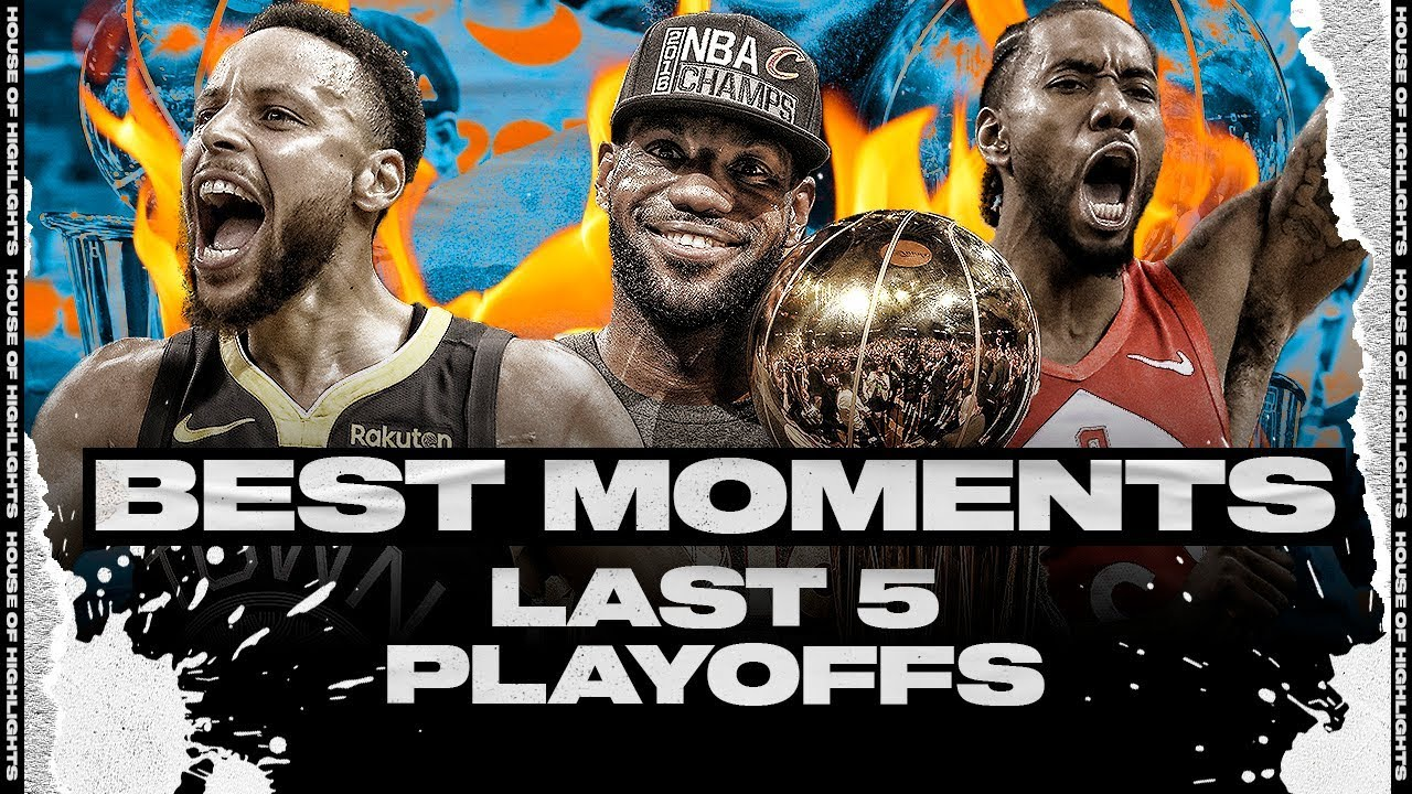 VERY BEST PLAYOFF MOMENTS to REMEMBER | Last 5 Seasons