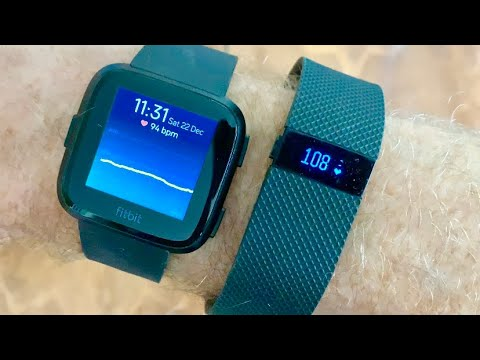 New Fitbit vs Old Fitbit Test