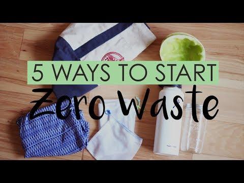 5 Ways to Start Zero Waste