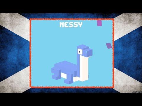 UNLOCK ☆ Nessy ☆ Crossy Road - NEW Mystery Secret Character, the Loch Ness Monster!