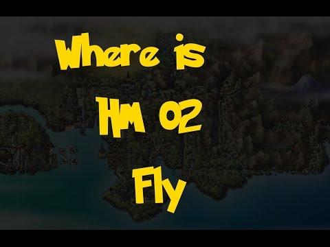 Where Is: HM 02 - Fly (Pokemon Heart Gold/Soul Silver)