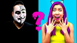 HALLOWEEN! Mystery Hacker Trapped Me Inside!!! Who Are YOU? (CC Available)