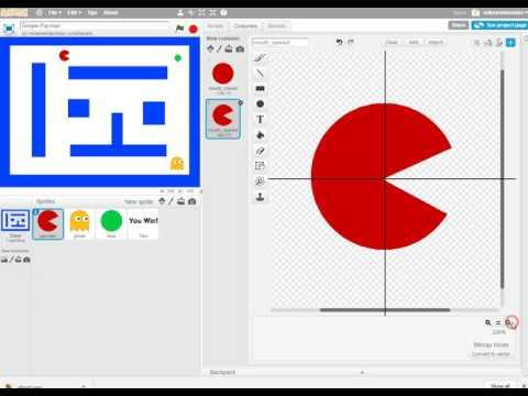 Scratch Simple Pacman - Basics