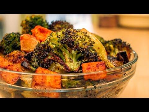 Silently Cooking - Roasted Veggies