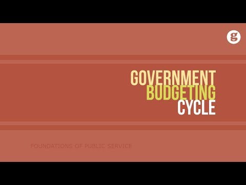 Government Budgeting Cycle