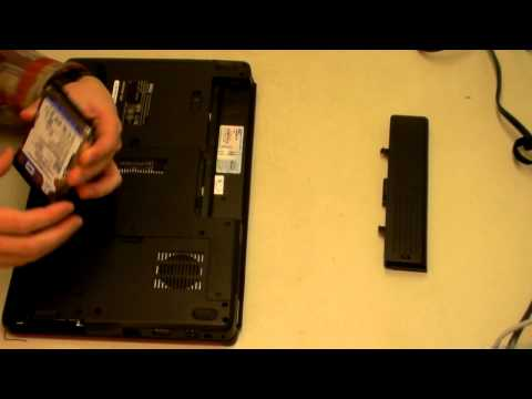 Dell Inspiron Hard Drive Removal