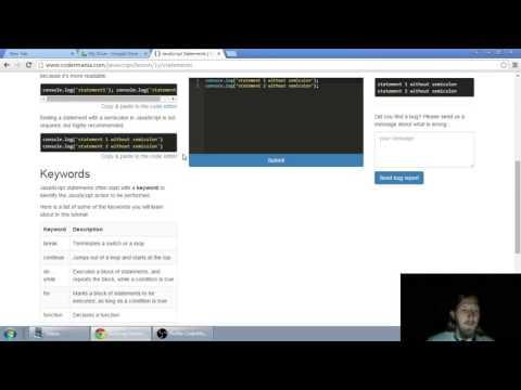 Web developerská škola, časť 8: JavaScript - Príkazy