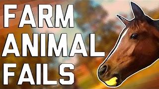 Hilarious Farm Animal Fails (January 2017) || FailArmy