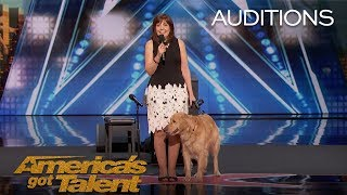 Oscar & Pam: Singing Dog Wins America