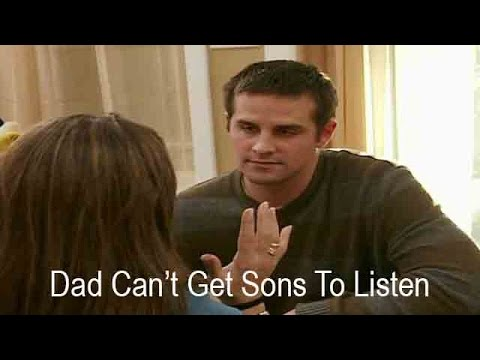 Dad Can't Get Sons To Listen | Supernanny