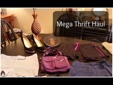 Mega Thrift Haul