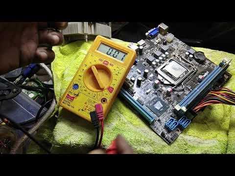 computer repairs #pc repair #no power motherboard repaired # zebronics h 61