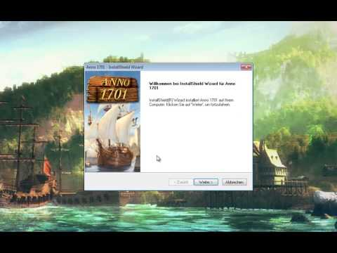 GDPC: Anno 1701 auf Windows Vista + 7 + 8 spielen (32 Bit-Version und 64 Bit-Version)