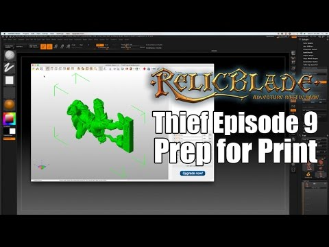 Thief Episode 9- Prep for Print