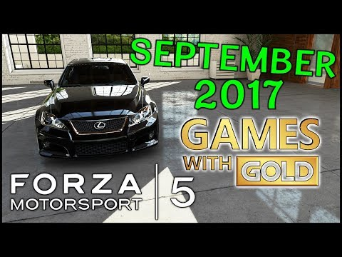 Get Forza Motorsport 5 FREE - Xbox Games With Gold September 2017 - Free Forza 5 (FM5) Download