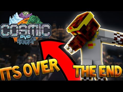 The Update To The End Of CosmicPvP - CosmicPvP Factions