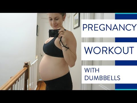 Pregnancy Workout | Second Trimester Exercise Routine #2