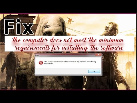 Dying light fix minimum requirements and all error windows 7/8/10