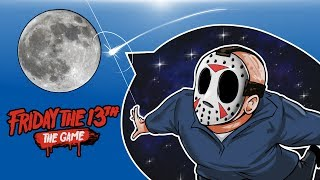 Friday The 13th - SENDING JASON TO THE MOON! (HOME RUN GLITCH!)