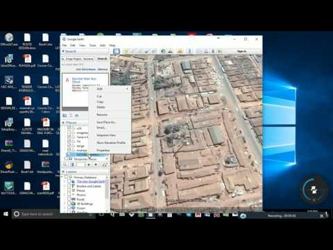 Creating shapefile from google earth, qGIS and TCX Convertor
