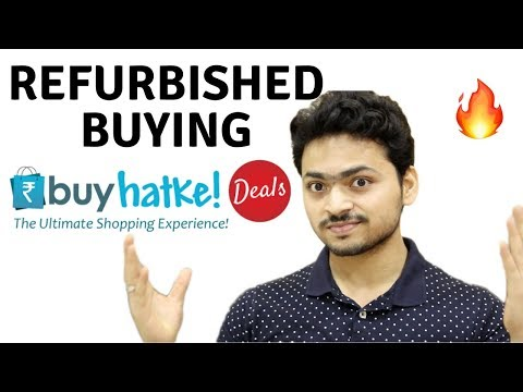 Buying Refurbished gadgets online | Buyhatke Extension | Compare and Buy Save Money | Tech Unboxing