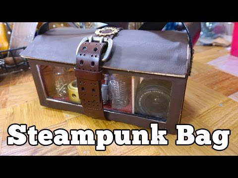 Steampunk Inventor's Bag | Barb Makes Things #51