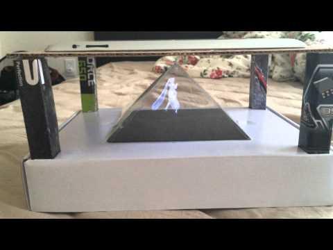 Home make 3D projector?hologram