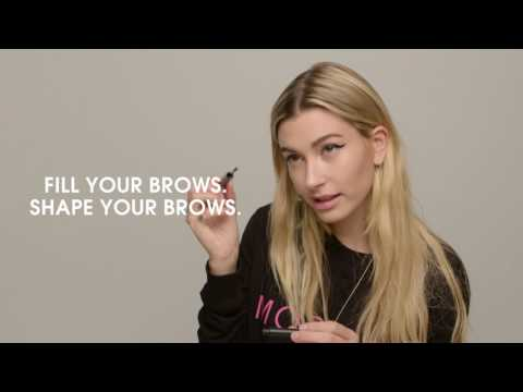 Hailey Baldwin for ModelCo: PERFECT BROWS Pencil and Clear Brow Duo