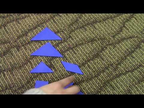 Finding Area Using Tangrams