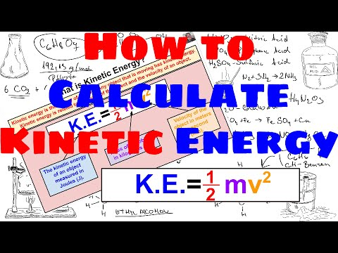 How to Calculate Kinetic Energy