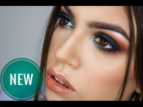 FOREST GREEN MAKEUP TUTORIAL FOR BROWN EYES