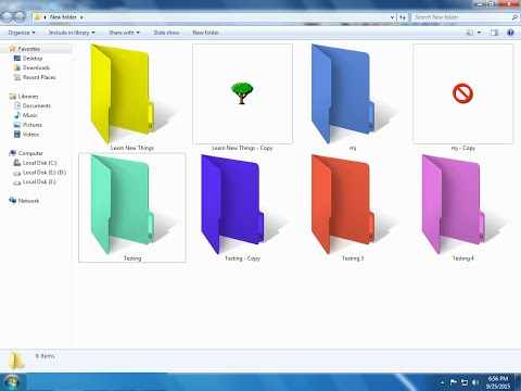 How to Change Folder Icons & Colors in Windows PC