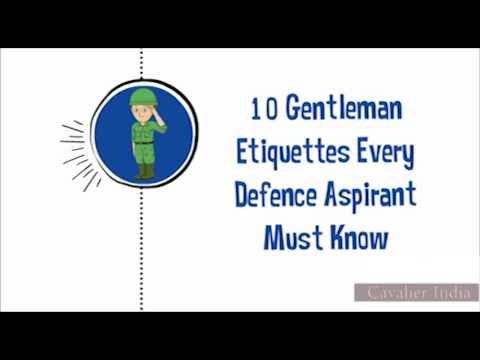 SSB Tips - 10 Gentleman Etiquettes Every Defence Aspirant Must Know