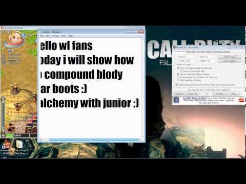 Wonderland online how to alchemy blody war boots