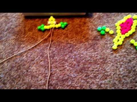 DIY pony bead lizard! (Emily & Brooklyn)