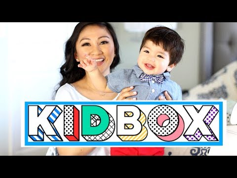 KIDBOX| BABY + KID CLOTHING HAUL!