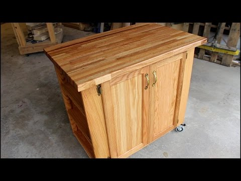 Build a Rolling Kitchen Island
