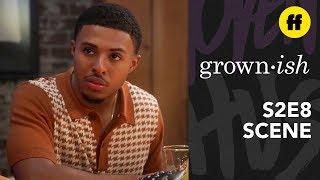 grown-ish Season 2, Episode 8 | Doug Gets Into a Bar Fight | Freeform