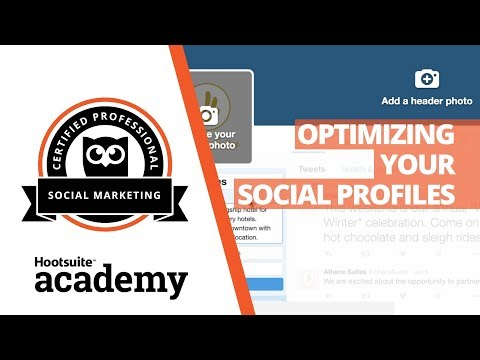 How to Optimize Social Media Profiles