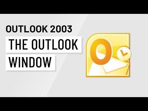 Microsoft Outlook 2003: The Outlook Window