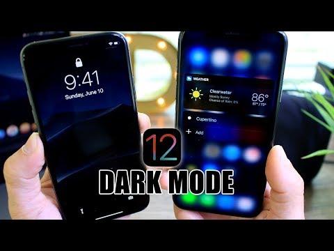 How to Get DARK MODE in iOS 12 (Better Smart invert)