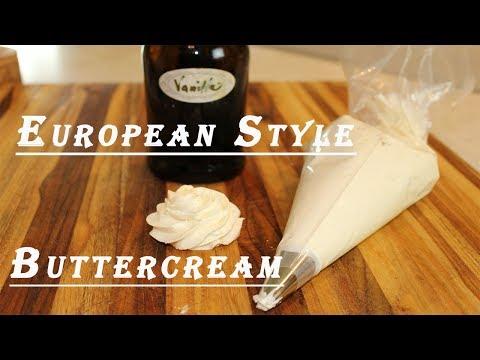 Homemade European Style  Buttercream