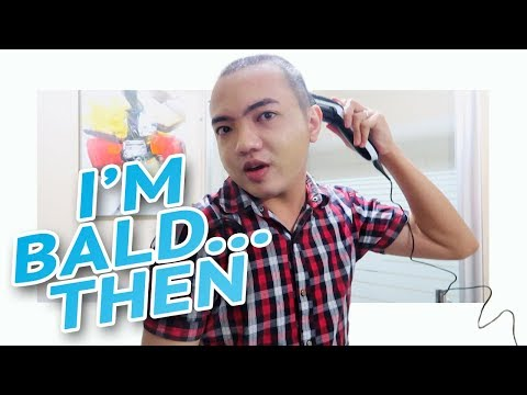 WHY DID I SHAVE MY HEAD? | Male Pattern Baldness at 20s