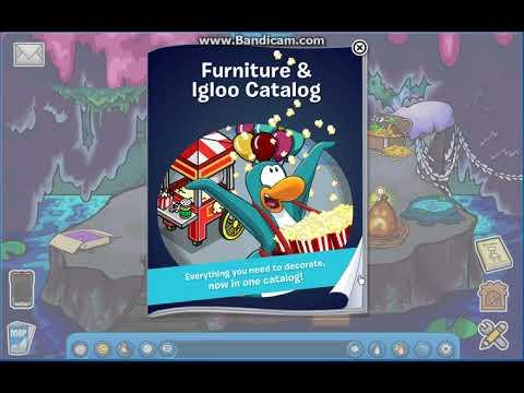 Club Penguin Reborn - Furniture Catalog and Igloo January 2018