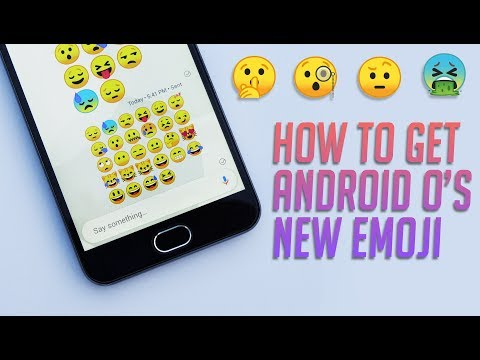 Get Android O's New Emojis on Any Android Smartphone [Root]