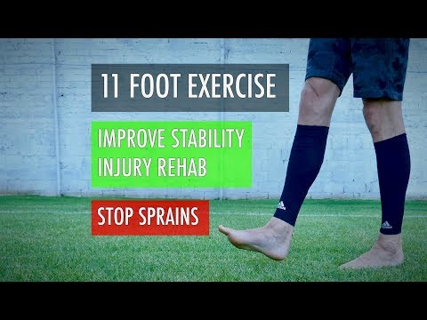11 ankle exercises for foot sprain recovery, best calf workouts for ankle stretching and stability