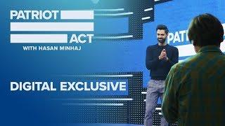 Hasan Responds: Does Patriot Act Use A Laugh Track? | Patriot Act with Hasan Minhaj | Netflix