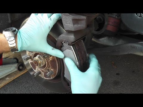 Honda Accord and Acura Brake Pads and Rotor Replacement