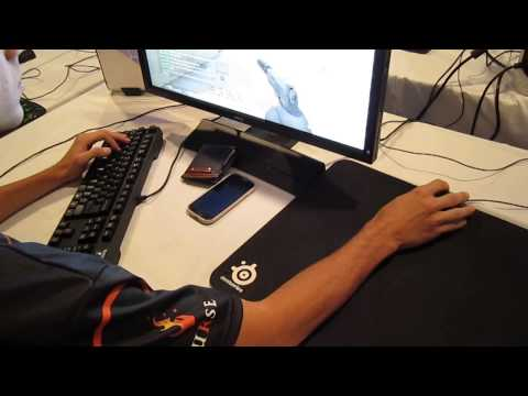 [CS:GO Pro Setups] Curse adreN - Over shoulder view